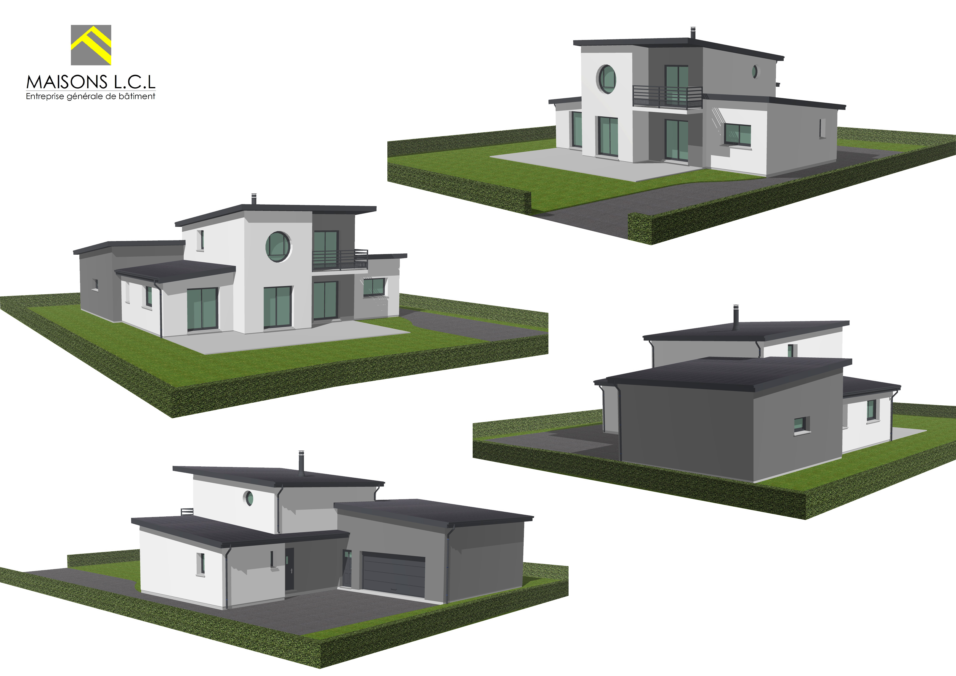 Maison Moderne 3d Maisons Lcl Entreprise G N Rale De