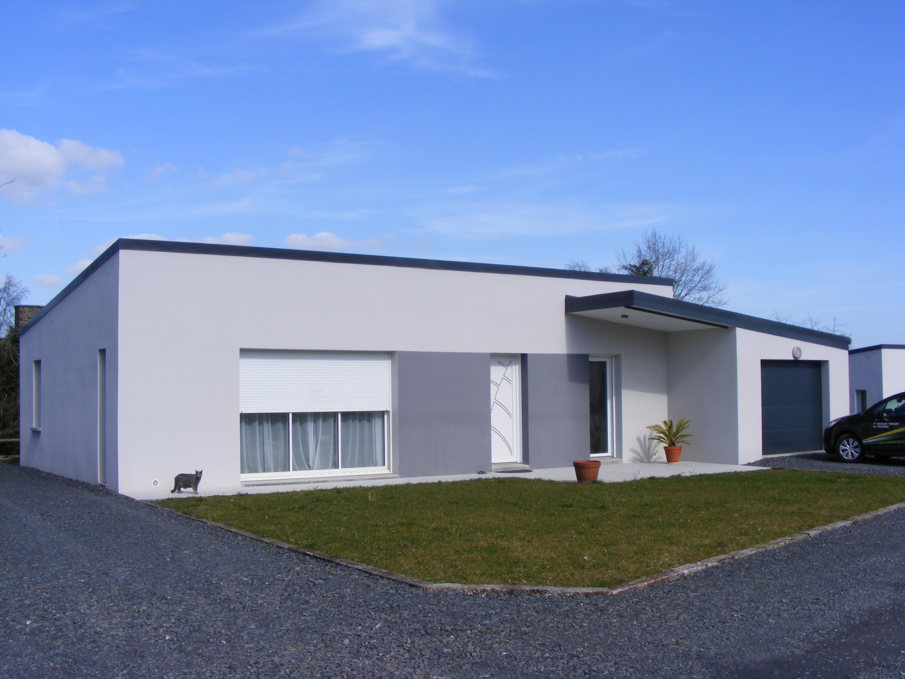 Plan De Maison 90m2 Plain Pied Gratuit Plan Maison